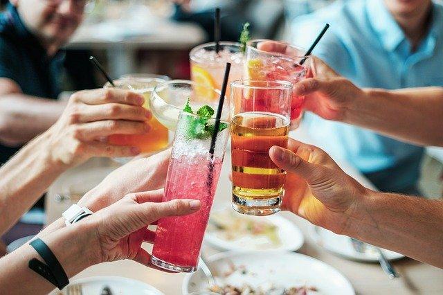 Forskellige drinks